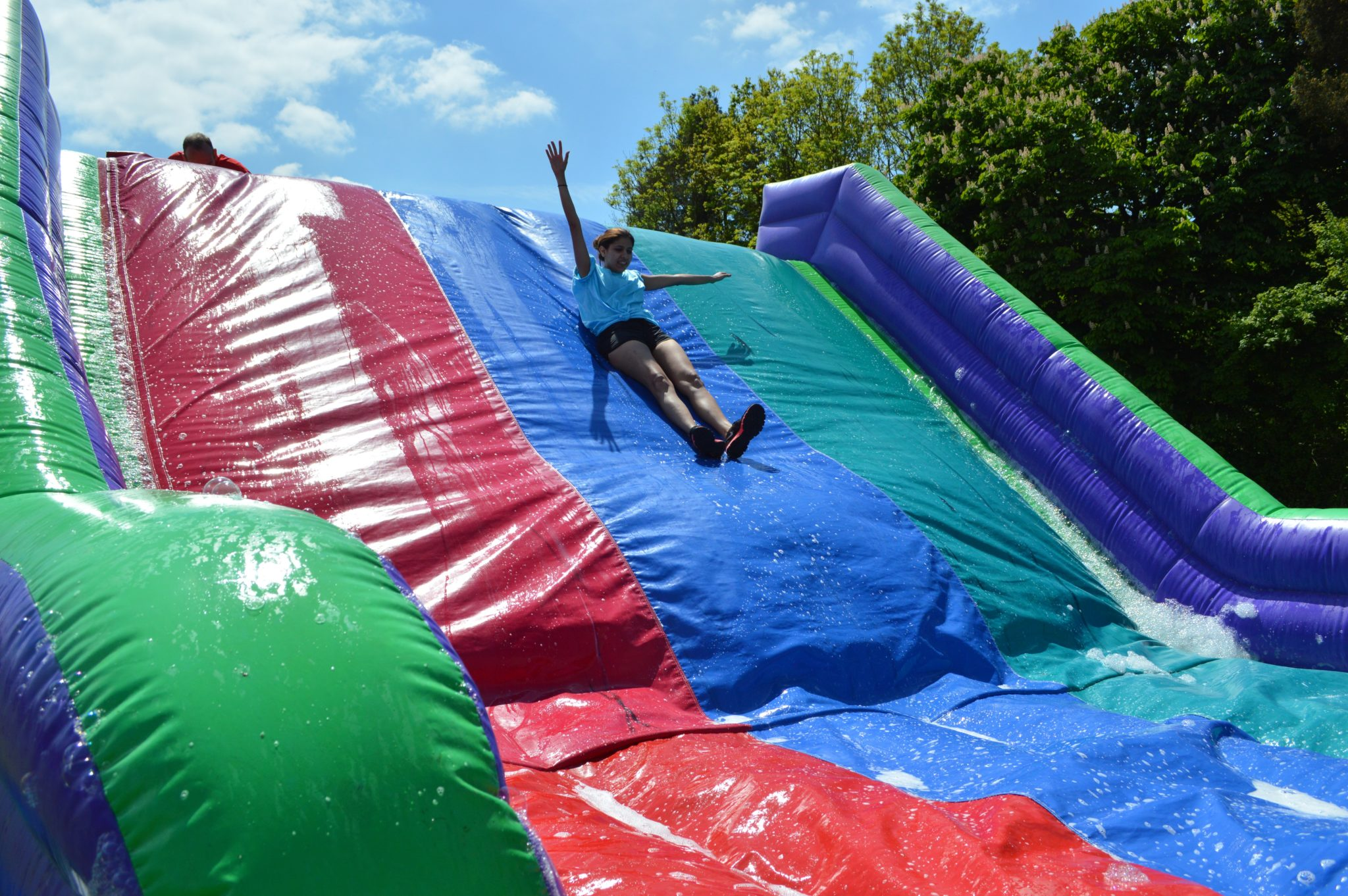 Total wipeout corporate event