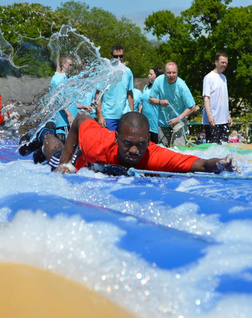 It's a knockout total wipeout company event