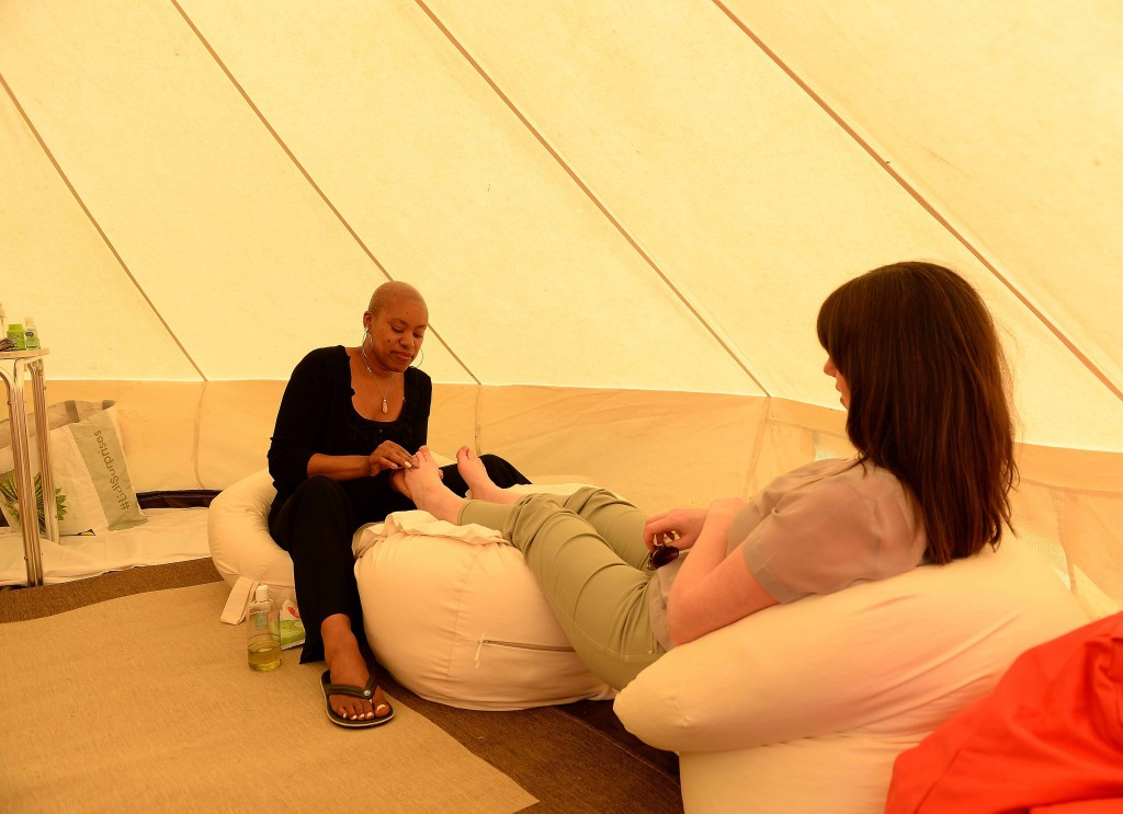 Massage Tents for Company Fun Days