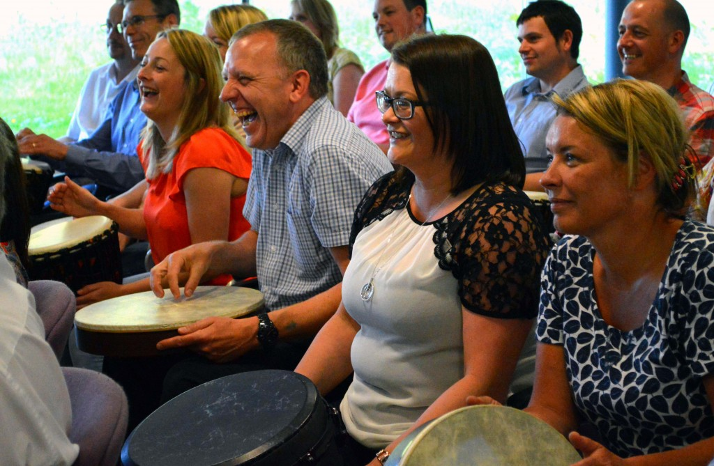 Drumming corporate events