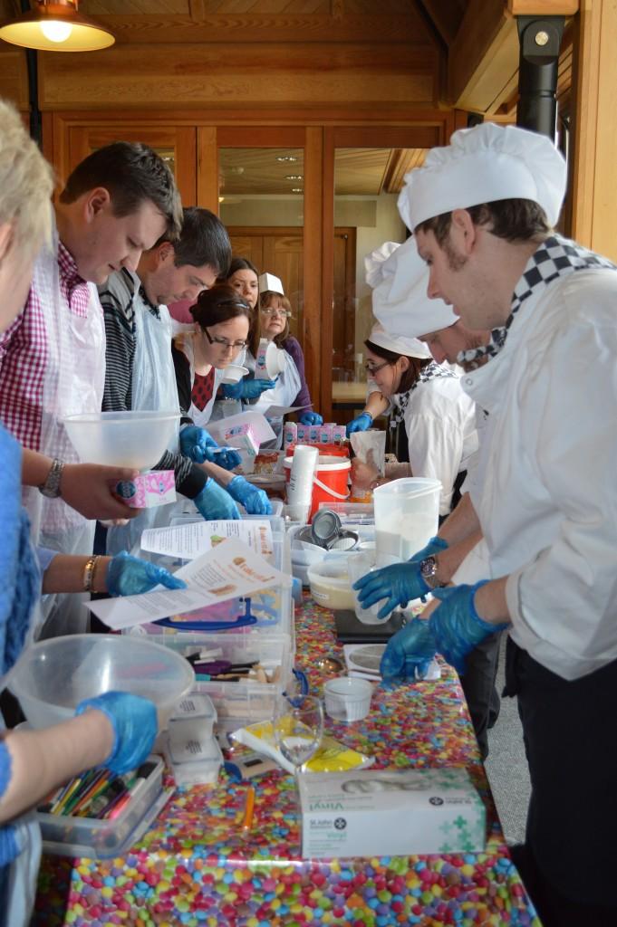 Ice Cream Making Team Event