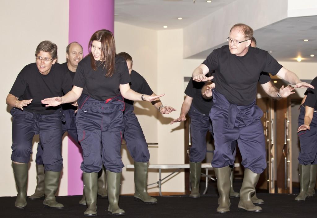 Gum Boot Dancing event