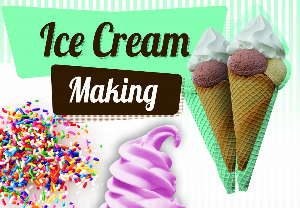 Ice Cream Making Team Event