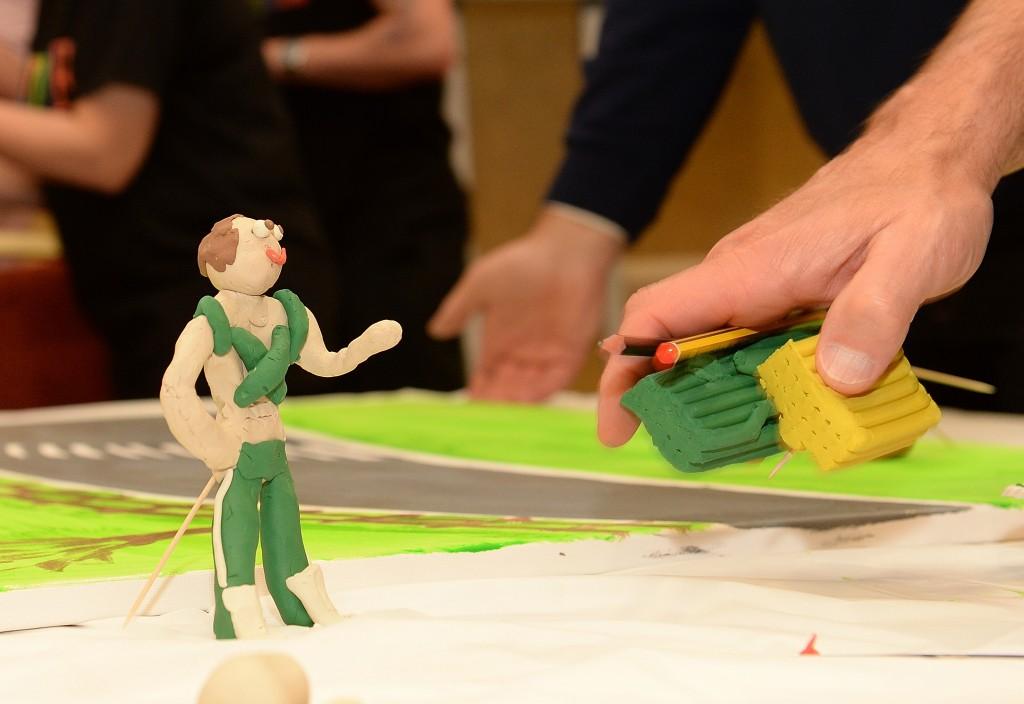 Creative team building events UK
