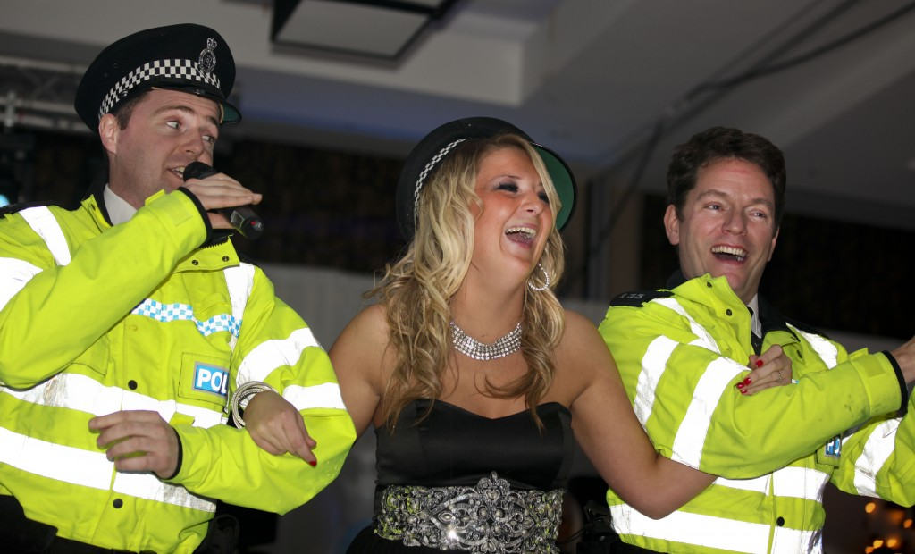 Singing Policemen