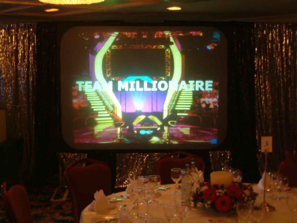 Millionaire corporate event