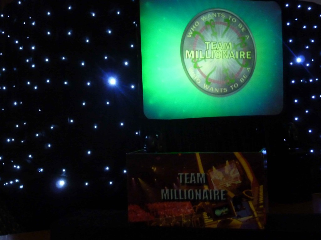Who wants to be a millionaire corporate event