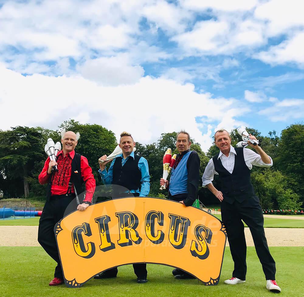Circus skills teachers a circus skills workshop