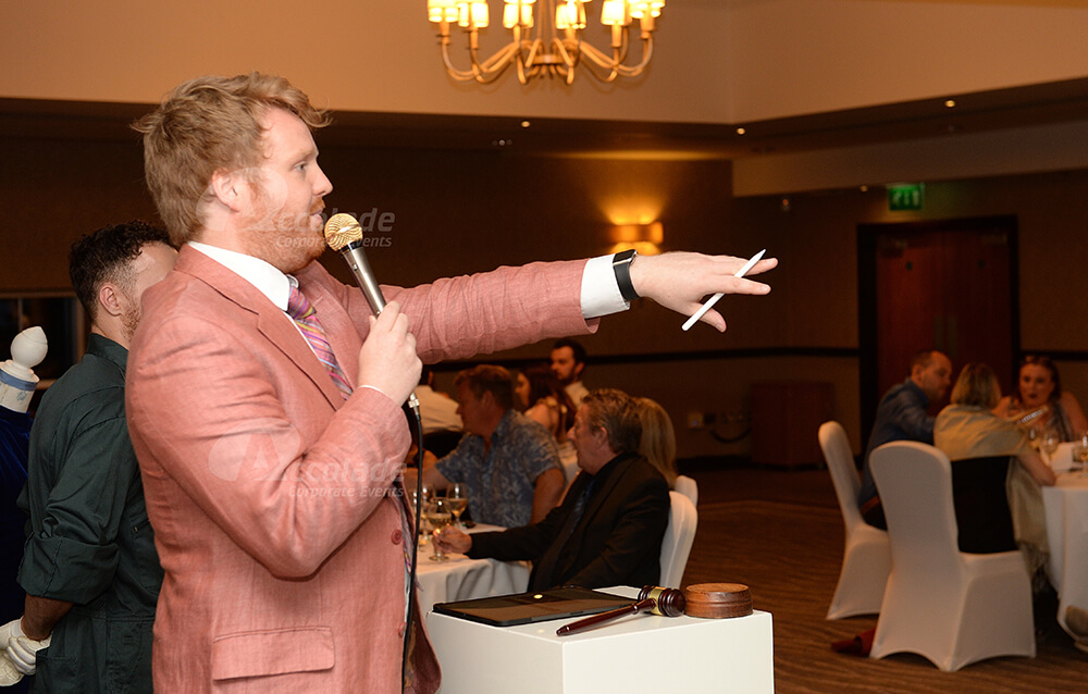 Auctioneer at Antiques Auction Corporate Event