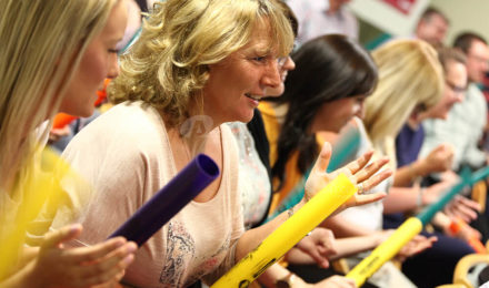 Boomwhacker conference energiser