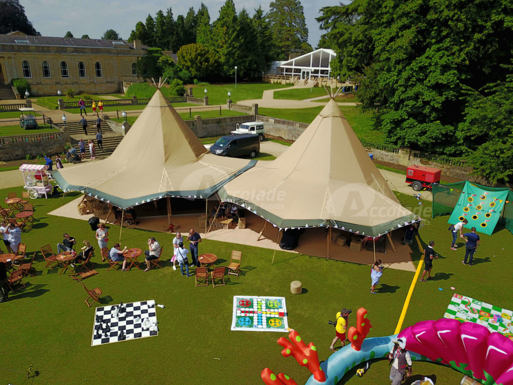 Company Fun Day Event Teepee Tents