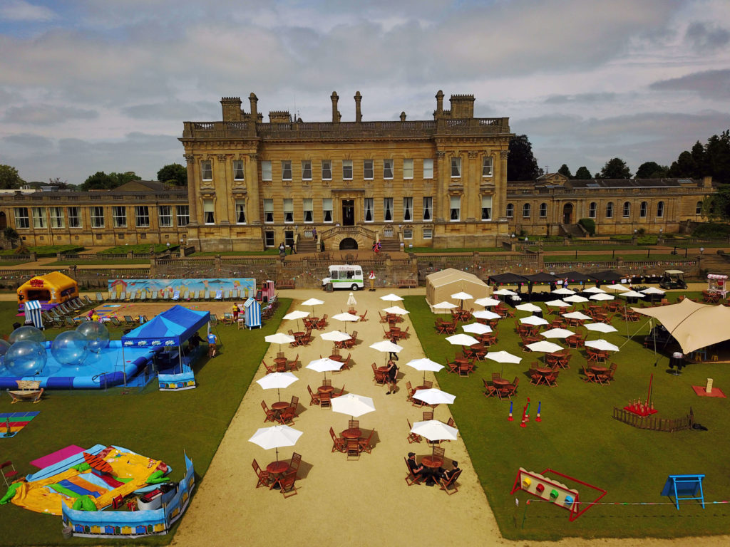 Company Fun Day Event Heythrop Park