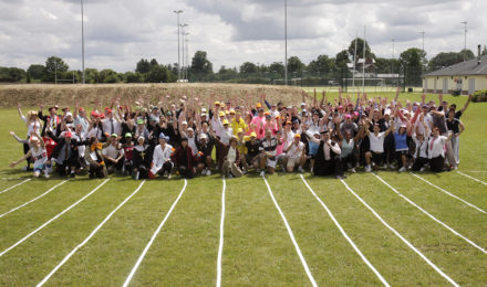 Team photo at School Sports Day team building event