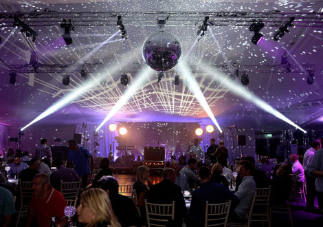 Glitter Ball at Live Lounge Company Party