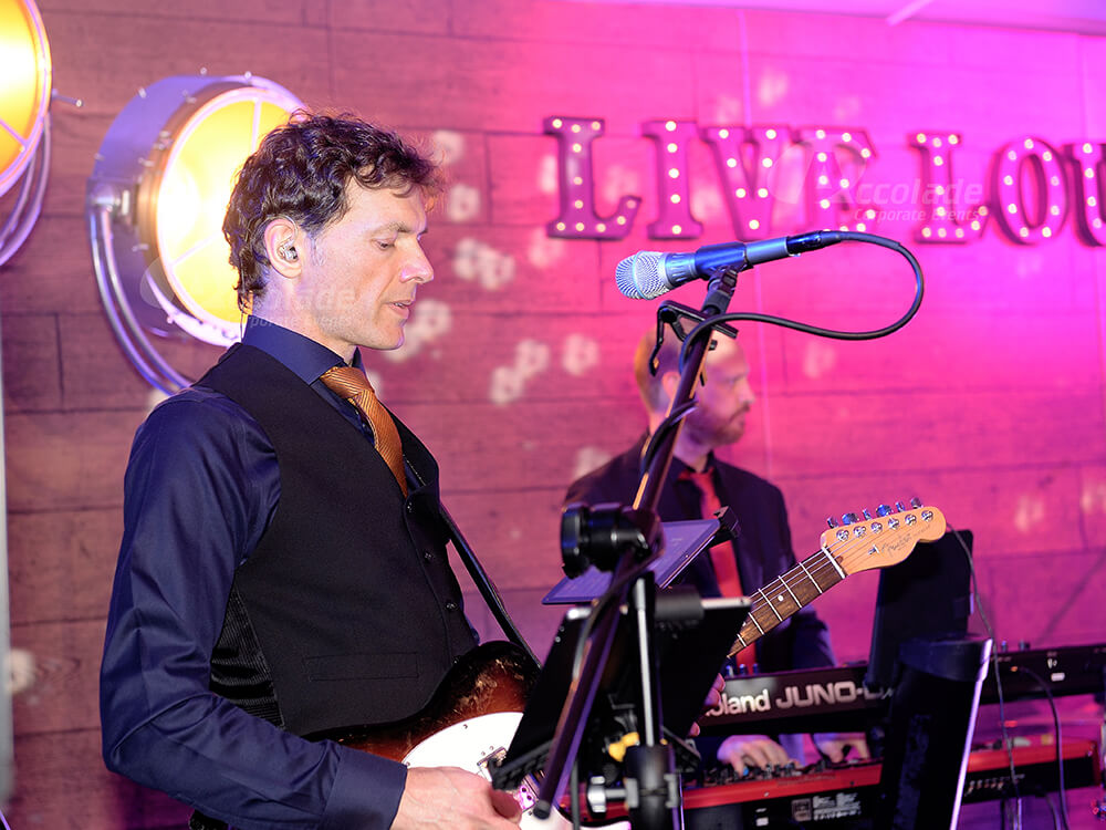 Guitarist at Live Lounge Company Party
