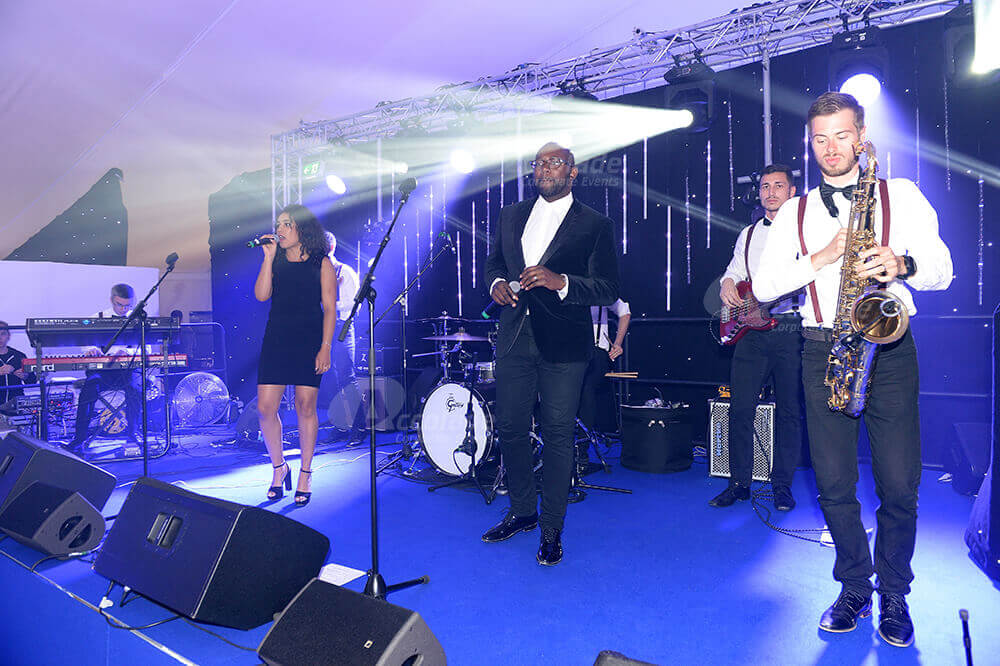 Stylish band at themed party company event