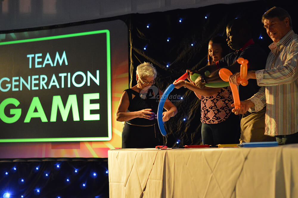 Team Generation Game Event