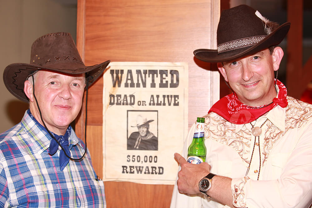 Wanted Poster at Wild West Party Corporate Event