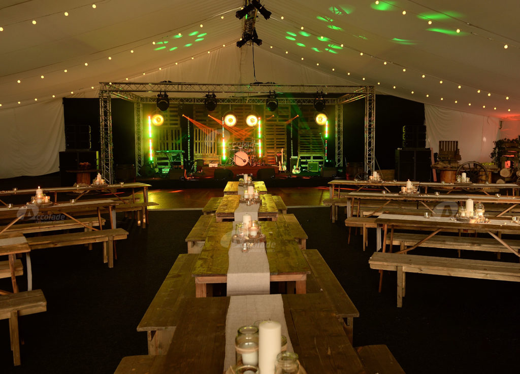 Indoor festival theme for corporate event