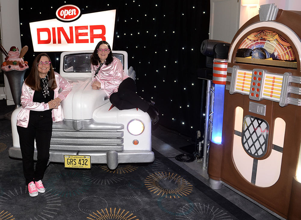 American diner themed party